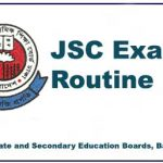 JSC Routine 2019 - All Education Boards Bangladesh