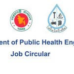 Department of Public Health Engineering Job Circular 2020