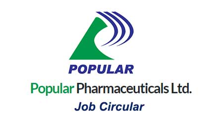 Popular Pharmaceuticals Ltd Job Circular 2020