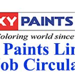 Roxy Paints Limited Job Circular 2020