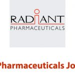 Radiant Pharmaceuticals Job Circular